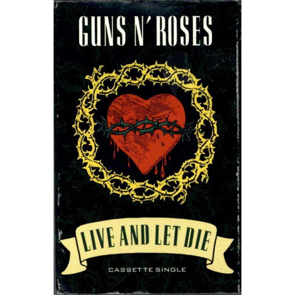 Live And Let Die By Guns N Roses Tape With Popfair Ref