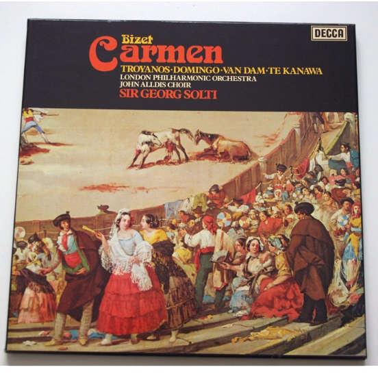 bizet, carmen Bizet Carmen, troyanos, domingo, van dam, te kanawa