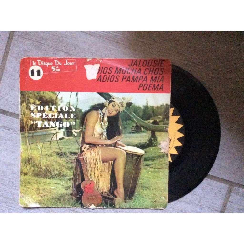 Le disque du jour n 11 Edition speciale tango