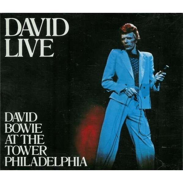 David Live David Bowie At The Tower Philadelphia By