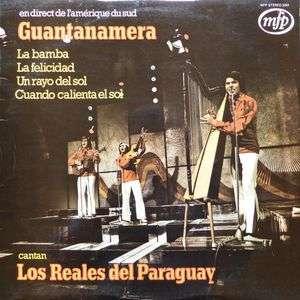 REALES DEL PARAGUAY Los Guantanamera