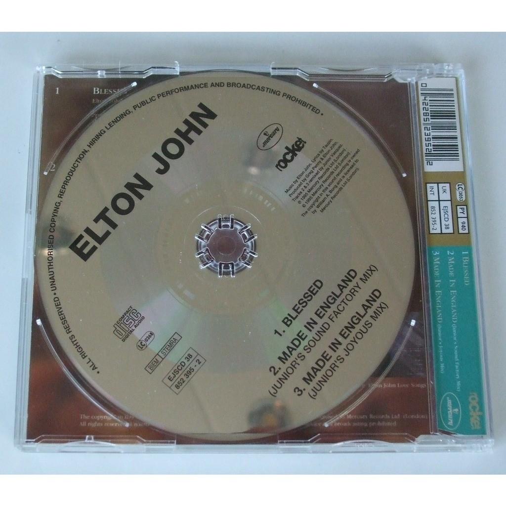 Elton john Blessed