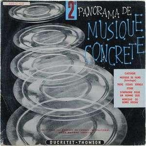 Pierre Schaeffer & Pierre Henry 2ème Panorama de musique concrète
