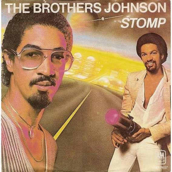 BROTHERS JOHNSON stomp ! / let's swing , instru.