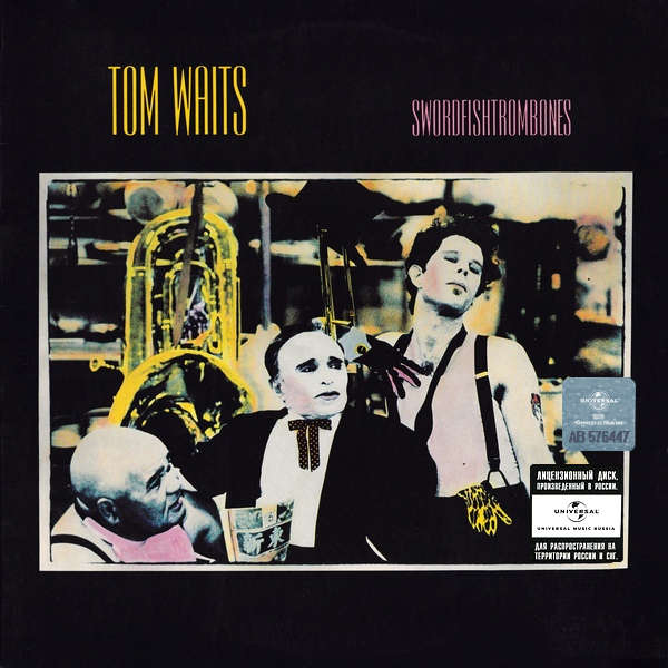 Tom Waits - Swordfishtrombones LP