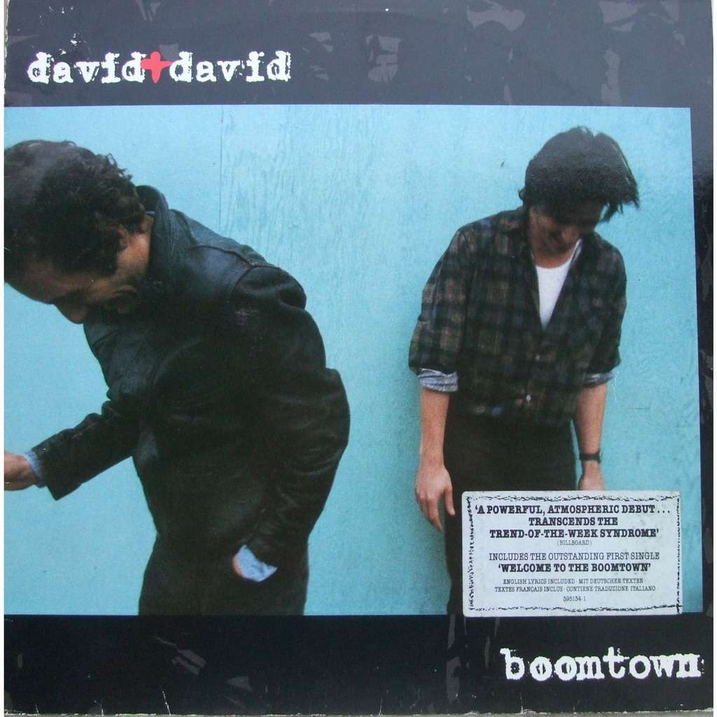 Boomtown by David David, LP with mabuse - Ref:118047321
