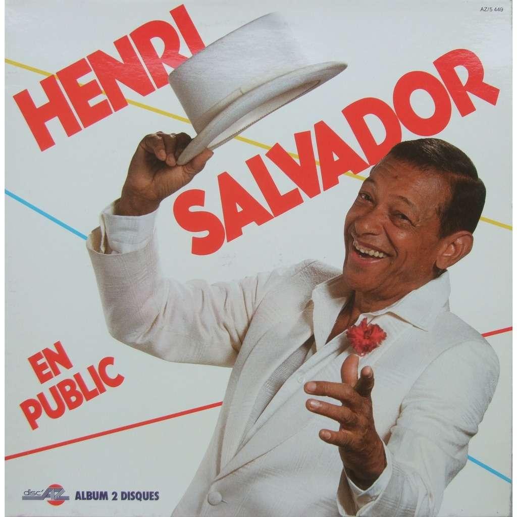 Henri SALVADOR En public