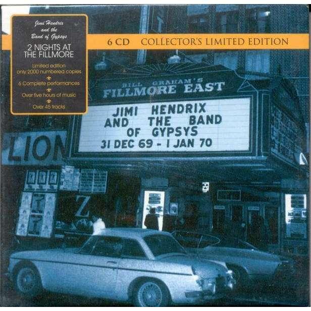 Jimi Hendrix 2 Nights At The Fillmore (31 Dec 1969 & 1Jan 1970) (New Zeland 2007 Ltd 48-trk 6CD Box set)