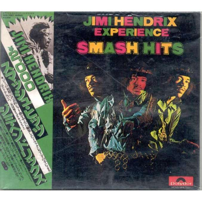 Jimi Hendrix Smash Hits (Japan mono Version & Worchester 15 03 1968)