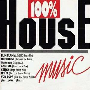 100 house music de flim flam hot house cd x 2 chez for Album house music