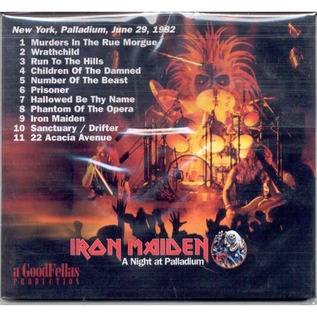 iron maiden A Night At Palladium (New York Palladium 29 June 1982)