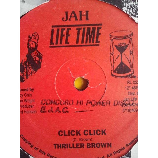 THRILLER BROWN / COMPUTER PAUL & BUNNY TOM TOM CLICK CLICK / RUB A DUB SOUND ORIG