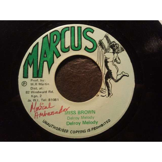 DELROY MELODY MISS BROWN / VERSION ORIG.