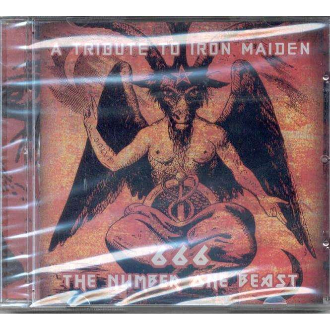 iron maiden 666 The Number One Beast - A Tribute To Iron Maiden (Russian 2001 11-trk tribute CD ps-sealed)