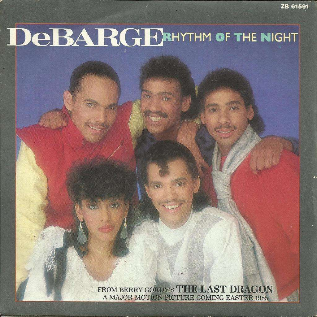 DeBarge rhythm of the night /queen of my heart