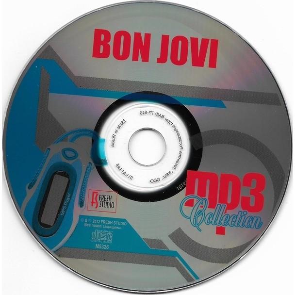 Mp3 collection  192, 256 kbps de Bon Jovi, CD-ROM con techtone11