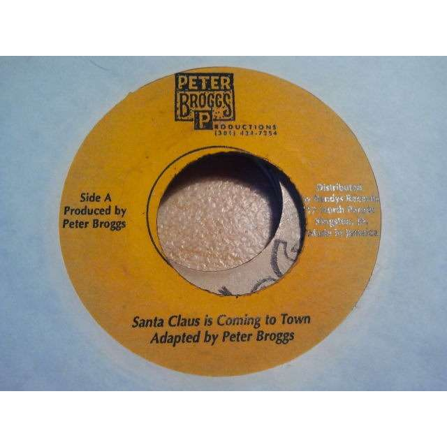 PETER BROGGS SANTA CLAUS IS COMING TO TOWN / VERSION ORIG.