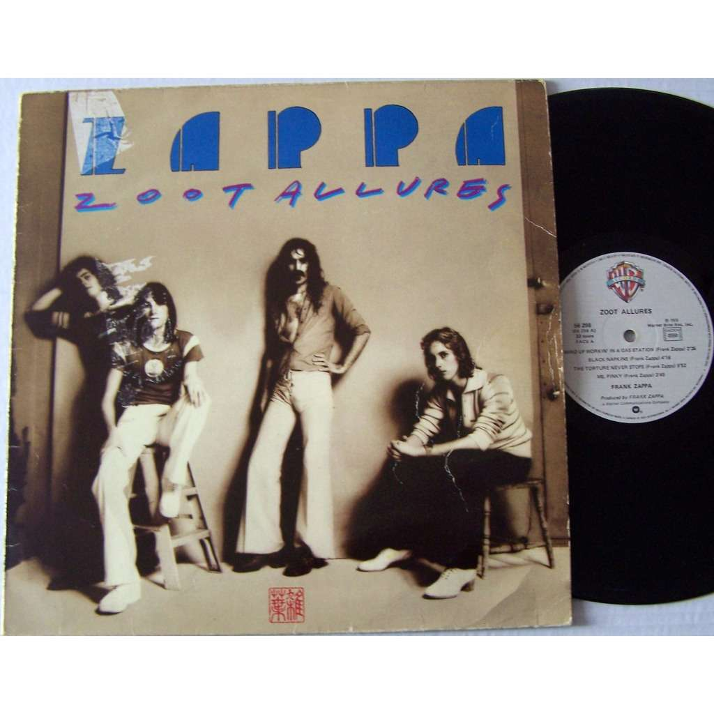 168 Zoot Allures By Frank Zappa Lp Lp With Lapopmusic902000