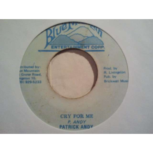 PATRICK ANDY CRY FOR ME / VERSION ORIG.