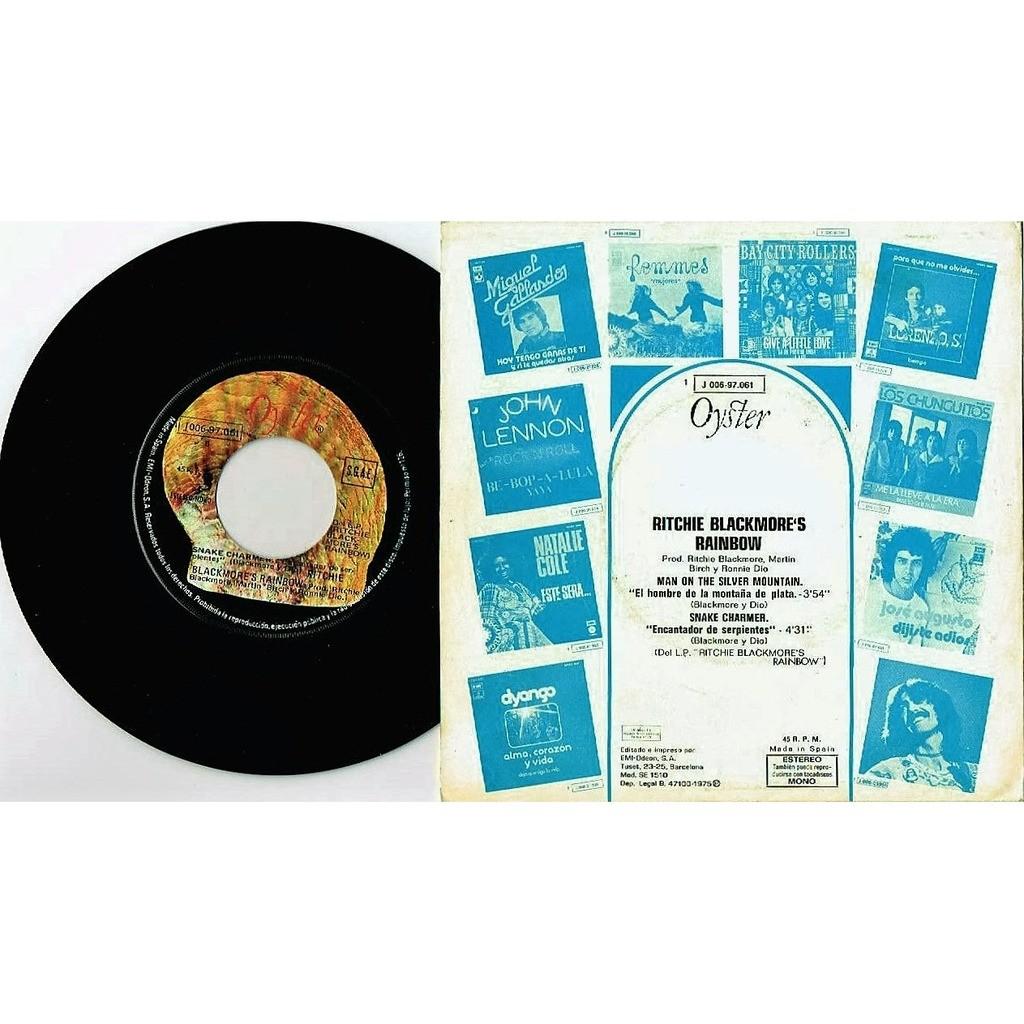 Deep Purple / Rainbow El Hombre De La Montana De Plata (Spanish 1975 original 2-trk 7single absolutely unique spanish ps)