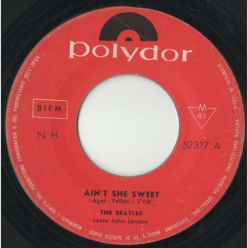 Beatles Ain't She sweet (Italian 60s original 2-trk 7single on Polydor lbl)