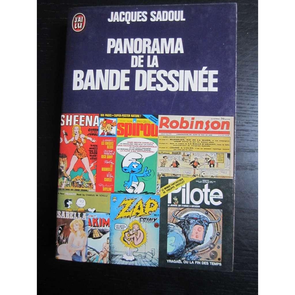 J'ai Lu Jacques Sadoul : Panorama de la Bande Dessinée (J'ai Lu-1976)