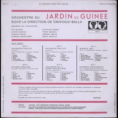 Jardin de Guinée direction Balla Onivogui