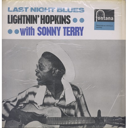 lightnin' hopkins with sonny terry last night blues