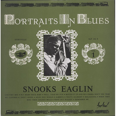 snooks eaglin portraits in blues vol.1