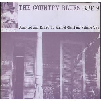 the country blues vol.2 compiled by Samuel Charters