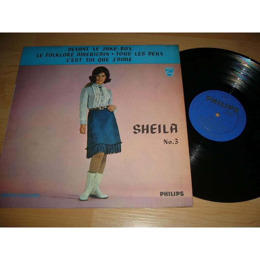 Sheila Sheila NO 3 (pressage canadien) tres rare