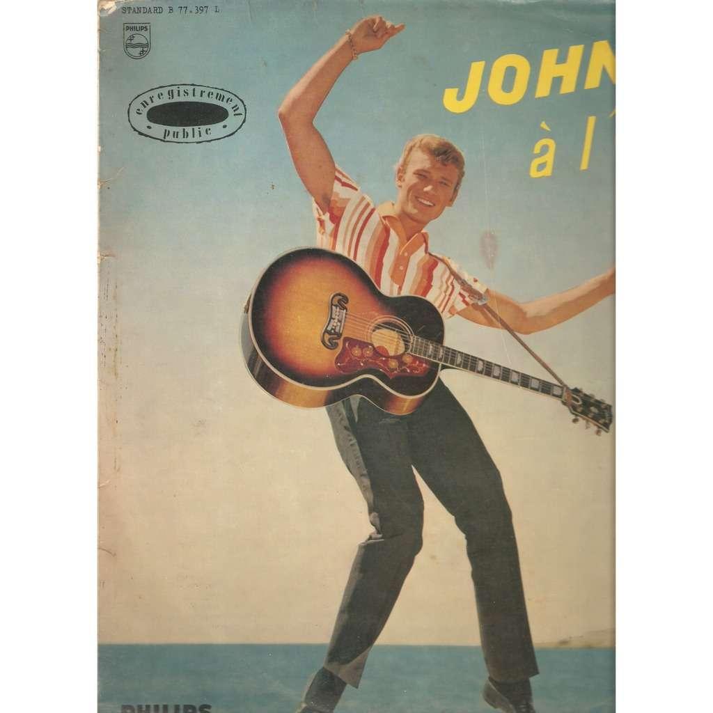 HALLYDAY Johnny JOHNNY A L'OLYMPIA