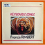 FRANCIS RIMBERT - Keyboards Songs - LP