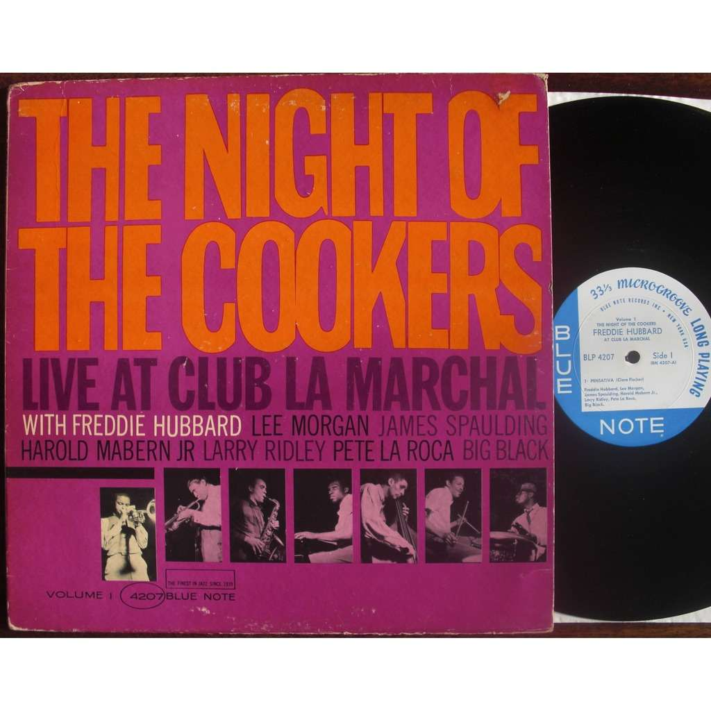 Freddie Hubbard / lee morgan ... The Night Of The Cookers live at club la marchal