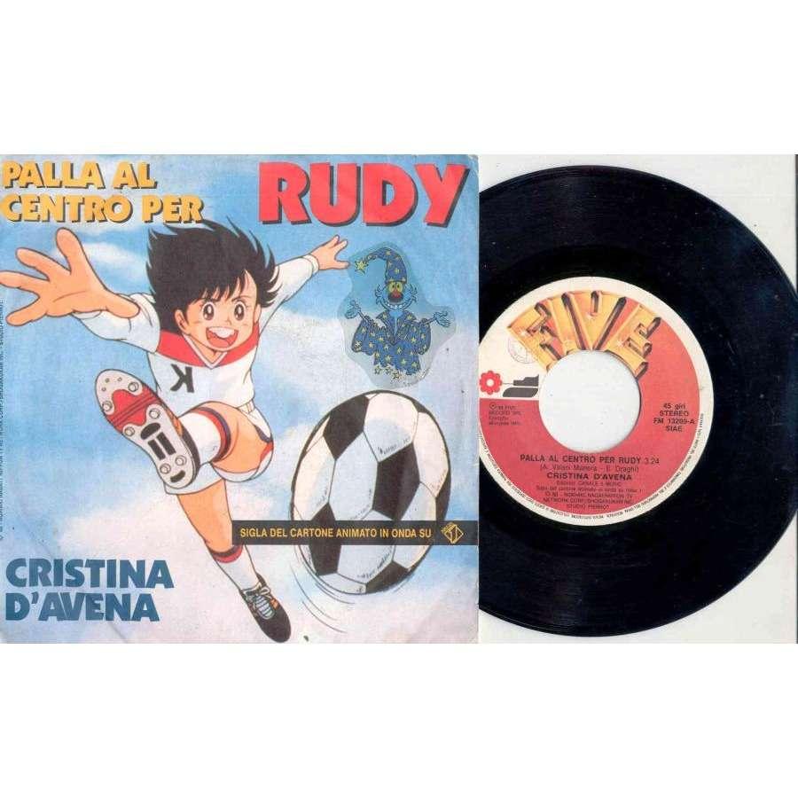 Cristina D'Avena Palla Al Centro Per Rudy (Italian 1988 2-trk 7single full ps)
