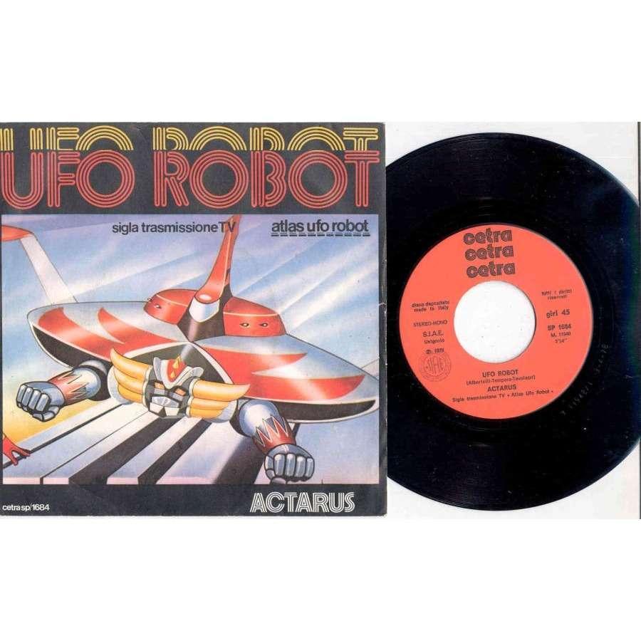 Actarus Ufo Robot (Italian 1978 2-trk 7single full ps)