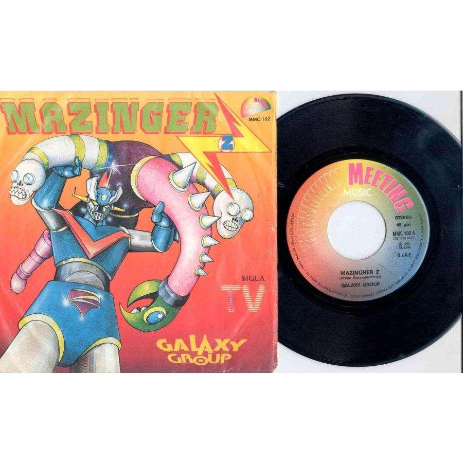 Galaxy Group Mazinger Z (Italian 1979 'TV Series' 2-trk 7single full great ps)