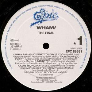 Wham! The Final 2 × Vinyl, LP, Compilation