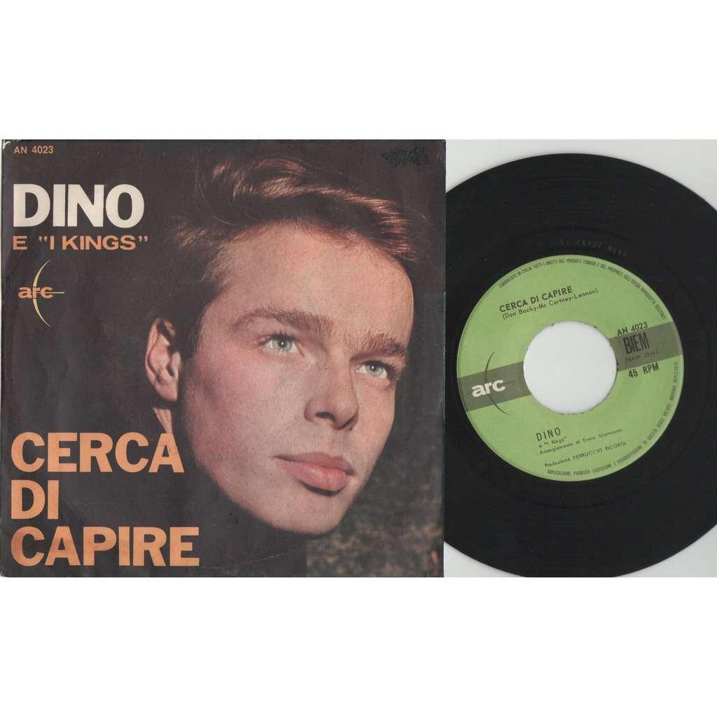Dino & i Kings / Beatles Cerca di Capire (Italian 1964 2-trk 7single full ps)