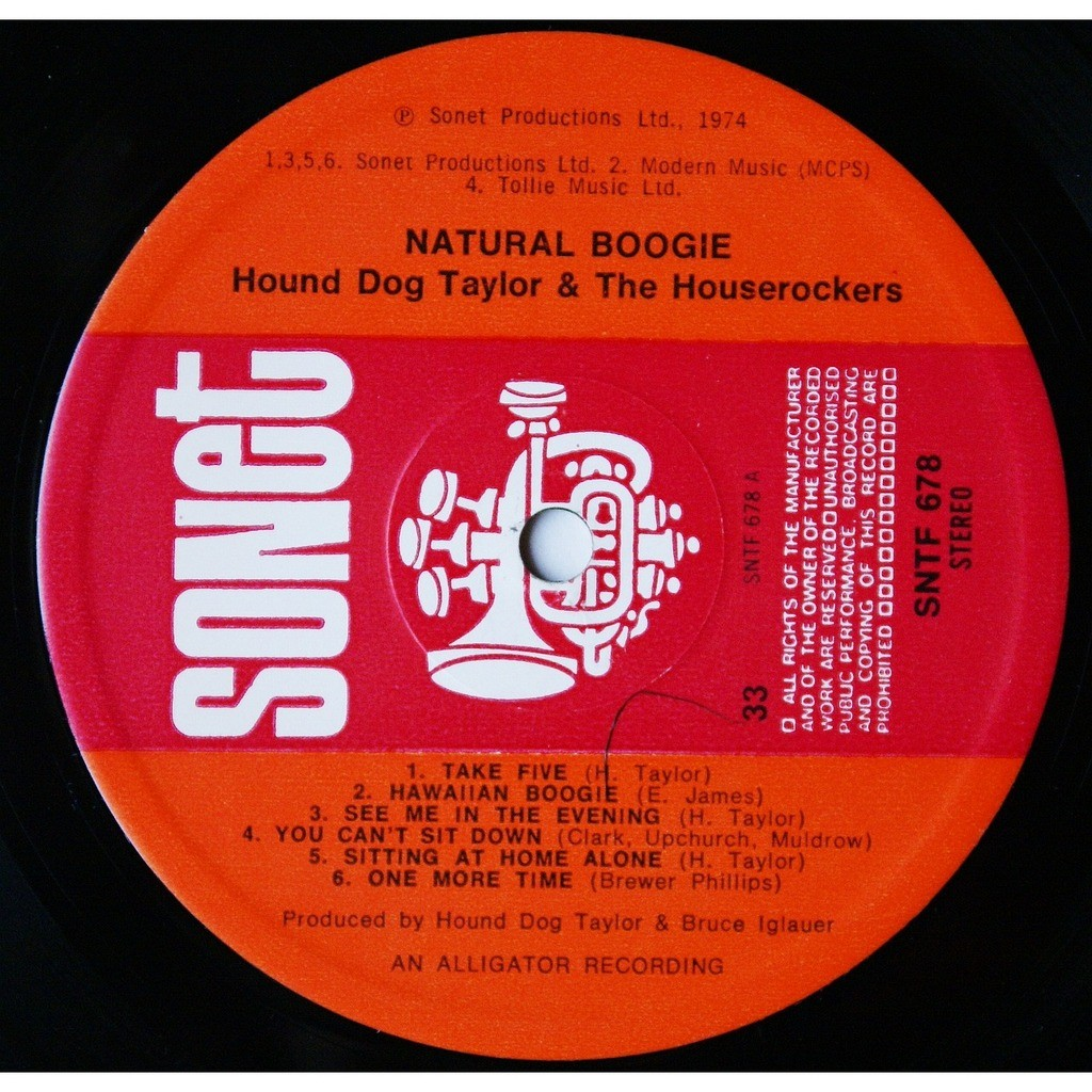 Hound Dog Taylor And The Houserockers Natural Boogie
