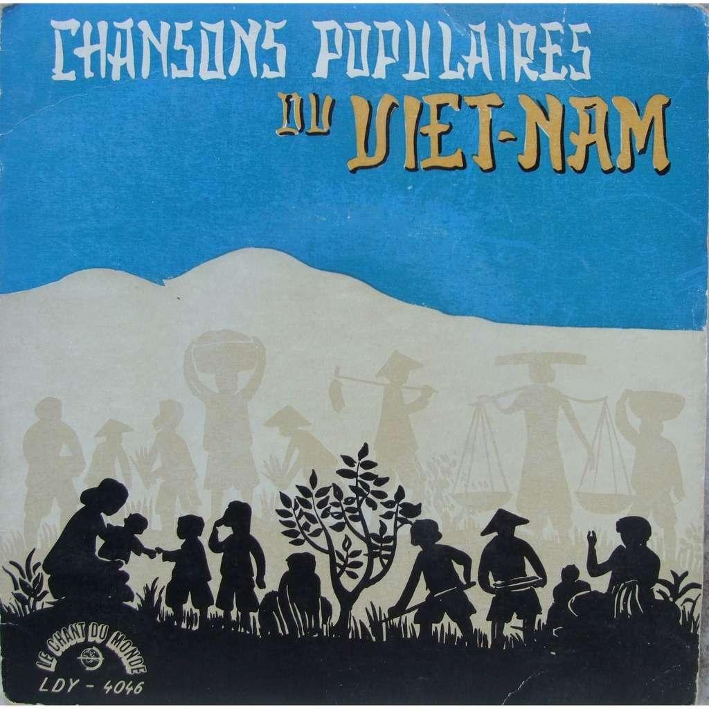 Ensemble Hoa-Binh.... Chansons Populaires du Viet-Nam (33t 1/3)