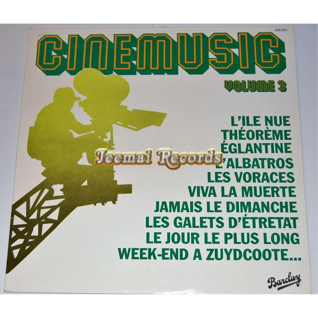 ENNIO MORRICONE / MAURICE JARRE / LEO FERRE... cinemusic vol 3