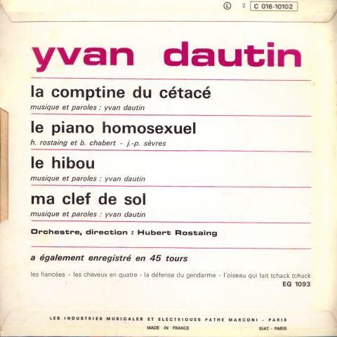 Dautin Yvan La comptine du cétacé