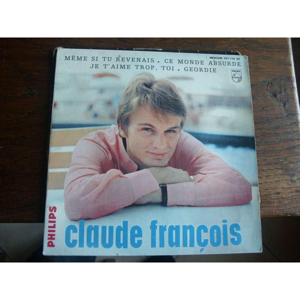 claude françois 10ème EP Philips Même si tu revenais