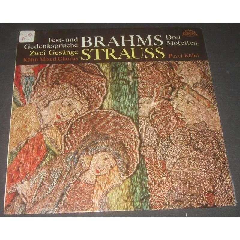 Gedenksprüche | Brahms Fest Und Gedenkspruche Drei Motetten Strauss Zwei