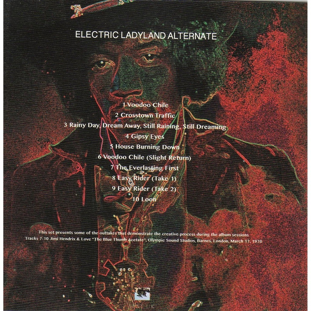 Electric Ladyland Alternate Euro Ltd 100 No D Copies 10