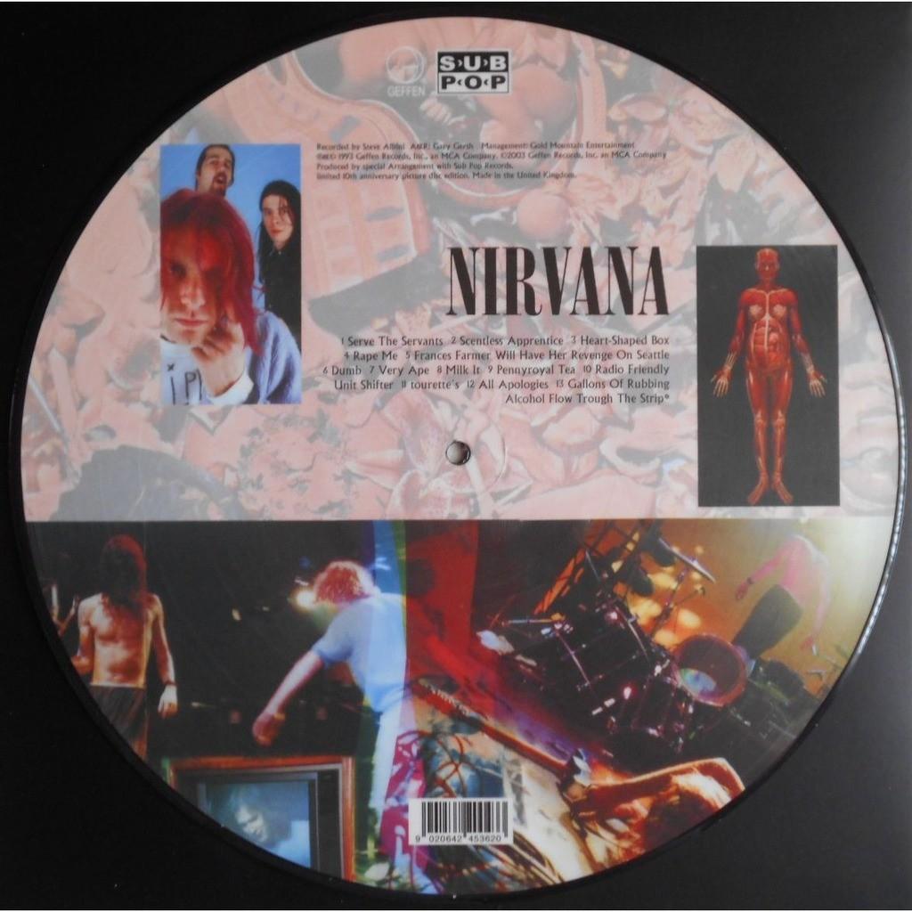 Nirvana In Utero 10th Anniversary