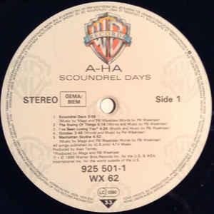 a-ha - Scoundrel Days a-ha - Scoundrel Days
