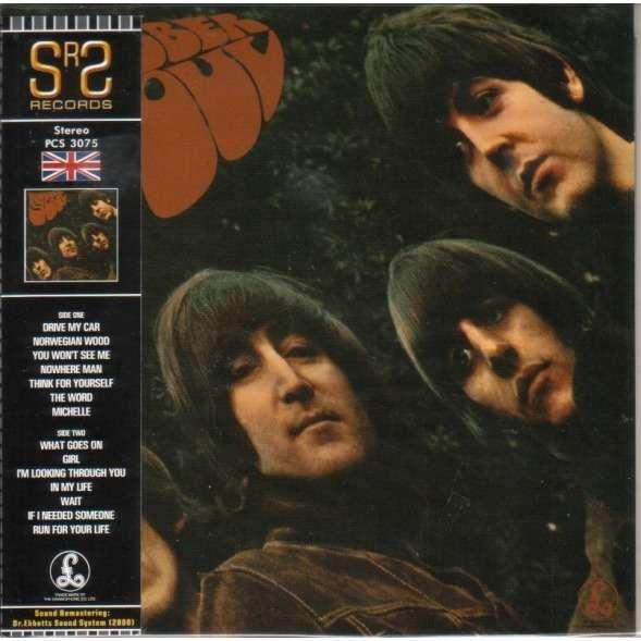 Beatles - Rubber Soul Record