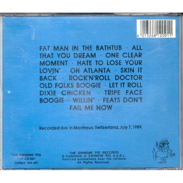 Little Feat Back On The Road (Montreaux Switzerland July 7 1989)